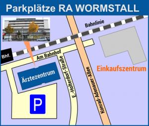 Anfahrt und parken - Kanzlei Andreas Wormstall, Rechtsanwalt, Fachanwalt für Arbeitsrecht und Anwalt Oelde